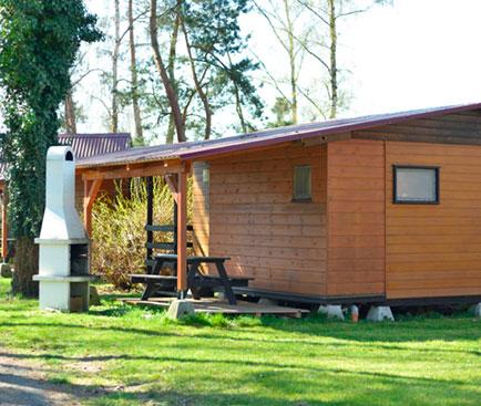 Kemp Karvánky moderní chaty